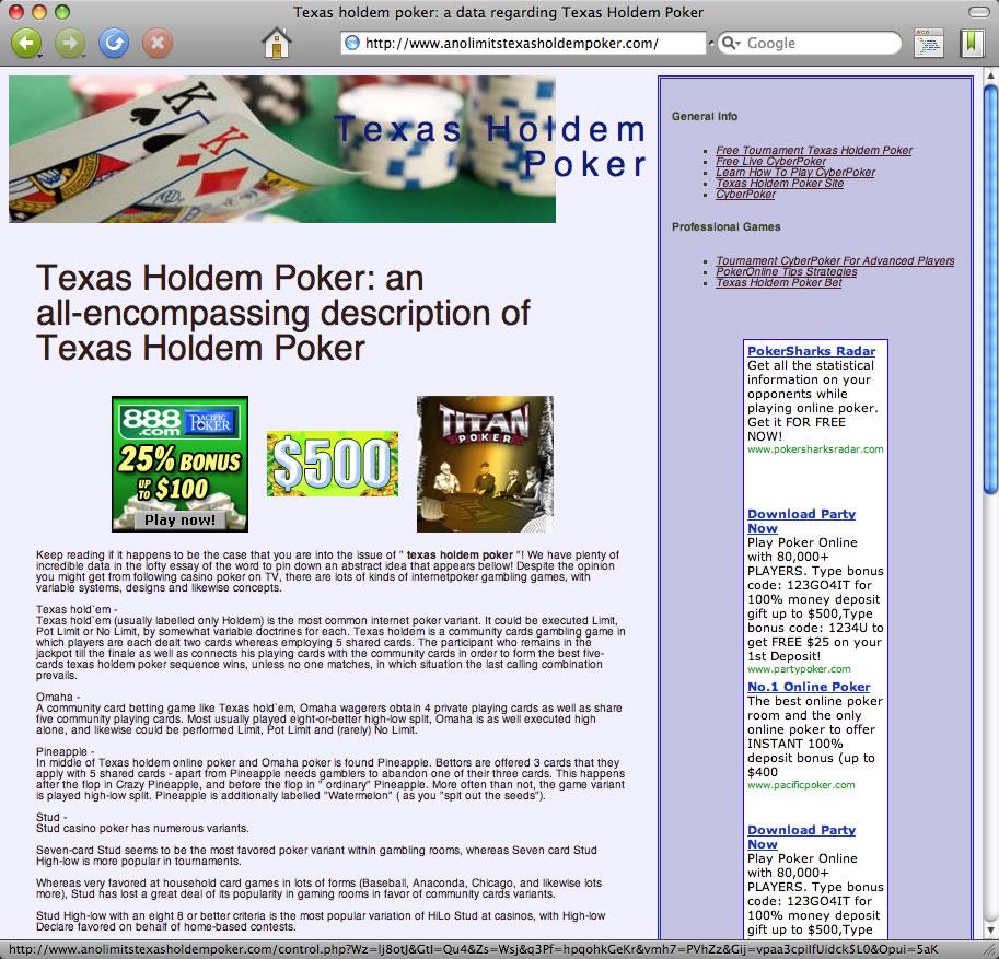 Junk casino website anolimitstexasholdempoker.com anltexasholdem.com